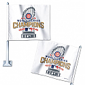 Chicago Cubs 2016 World Series Champs Car Flag