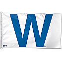 Chicago Cubs W Flag 3x5