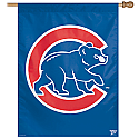Chicago Cubs Vertical Banner 27x37 Version 2
