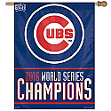 Chicago Cubs 2016 World Series Champs 27x37 Vertical Banner