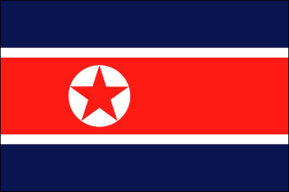 Korea, North Flag
