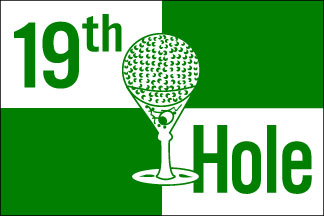 19th Hole Bow Flag