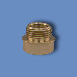 Brass Ornamental Adaptor for Aluminum Poles