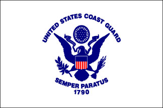 Coast Guard Armed Forces Flag