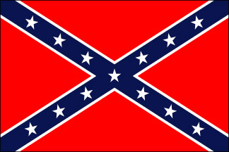 Confederate Navy Jack Historical Cotton Flag
