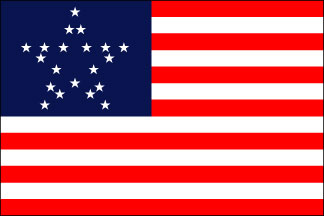 Great Star Historical US Flag