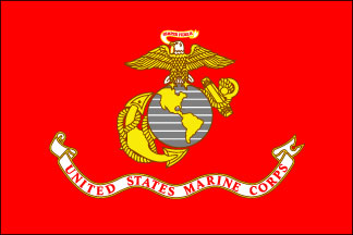 Marine Corps Armed Forces Flag