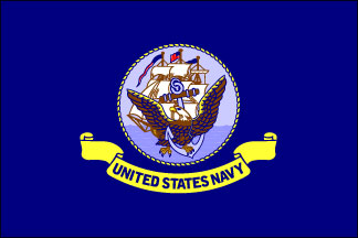 Navy Armed Forces Flag