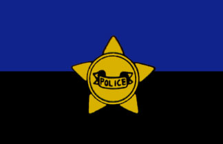 Police Remembrance Flag