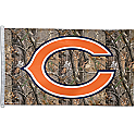 Chicago Bears Camouflage Flag 3x5 Version 1