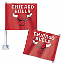Chicago Bulls Car Flag