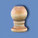 Slip Fit Wooden Balltop