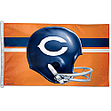 Chicago Bears Throwback Flag 3x5 Version 1