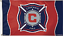 Chicago Fire Flag 3x5