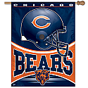 Chicago Bears Vertical Banner 27x37 Version 1