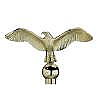 Plastic Classic Eagle Flagpole Ornament