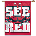 Chicago Bulls Vertical Banner 27x37 Version 1