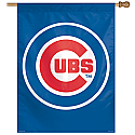 Chicago Cubs Vertical Banner 27x37 Version 3