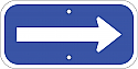 Arrow Sign (Blue2)
