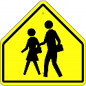 Crosswalk Symbol Sign