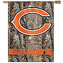 Chicago Bears Camouflage Vertical Banner 27x37
