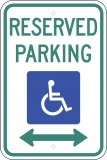 Disabled/Handicapped Signs