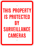 Surveilllance Camera Sign
