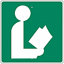 Library Image Sign