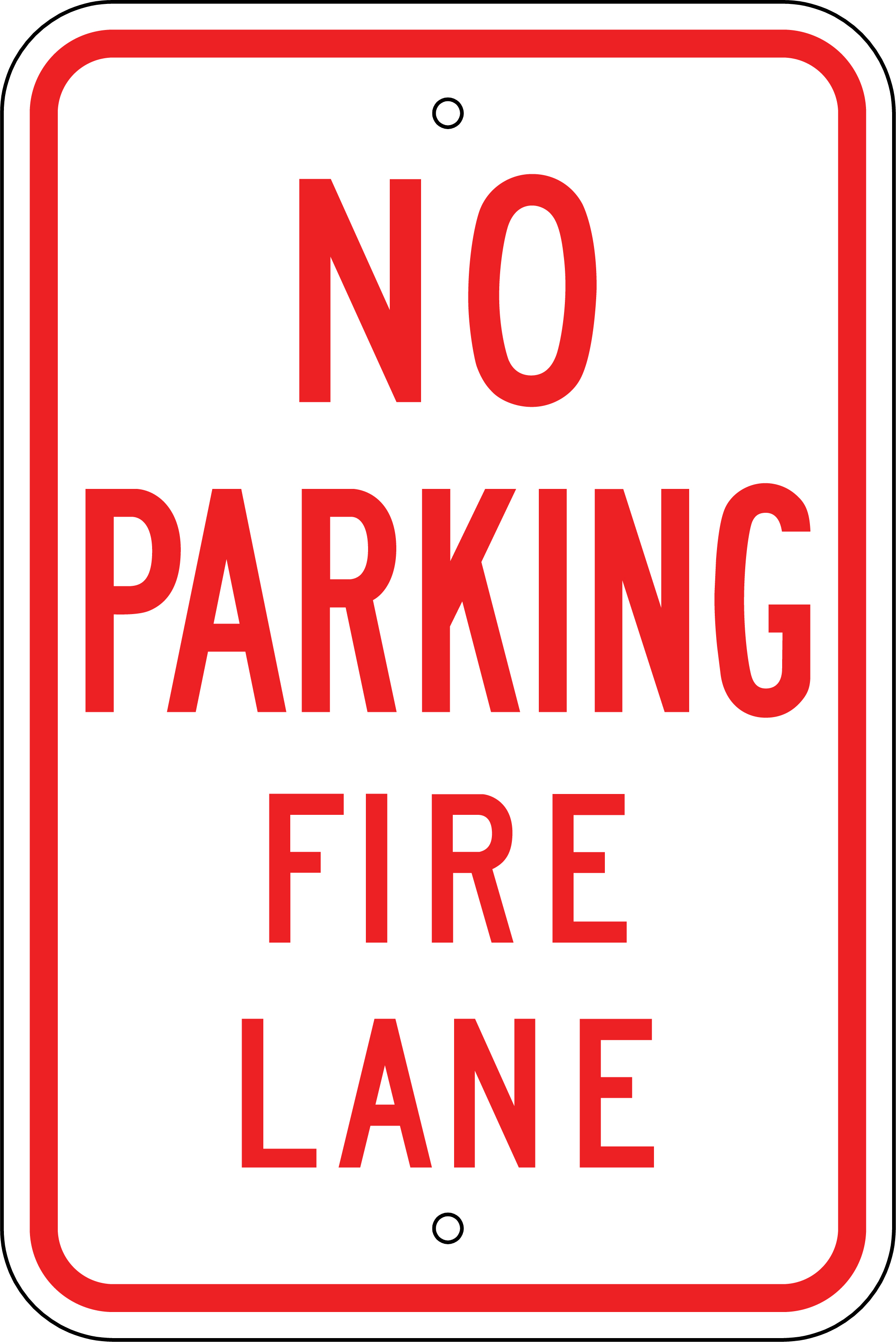Image result for no parking in fire lane image