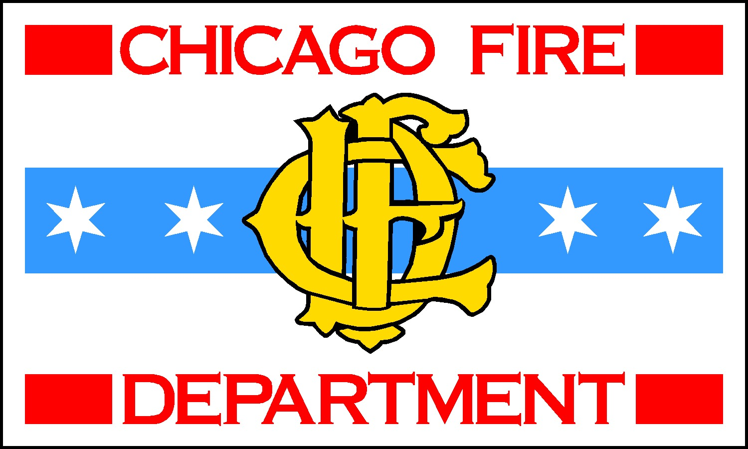 Wgn flag decorating co police fire flags chicago fire chicago fire department flag biocorpaavc Images